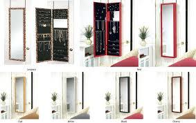 over the door hanging jewelry armoire hanging jewelry organizer with mirror jewelry over the door mirrored hanging jewelry armoire with etched scroll
