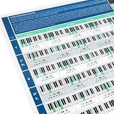 One of the first things that you will begin working on in your piano playing as a beginner is scales. The Really Useful Piano Chord Progression Poster Piano Poster Illustrated Piano Chords And Scales Learn Piano And Music Theory Piano Beginners A1 Size Folded Version Pricepulse