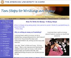 how to write an essay easy steps learn writing and listening in this website will help you to write an essay step by step in this site will teach you ldquohow to write an essay 10 easy steps rdquo offers a ten step process