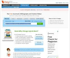 EasyBib is one of the most popular online bibliographic tools  letting you automatically create citations in APA  Chicago Turabian  and MLA styles  Home   FC
