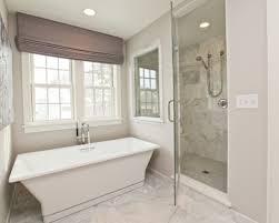 bathroom glass floor tiles. Bathrooms-seamless-glass-shower-marble-tiles-shower-surround- Bathroom Glass Floor Tiles