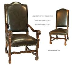tuscan dining room chairs luxury dining chair leather dining room chairs dining chairs old world all