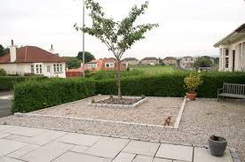 low maintenance front garden design