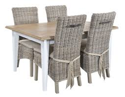 grey rattan dining table. atlantic grey wash rattan dining chairs - pair uk mainland delivery table