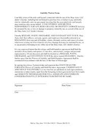 Simple Hold Harmless Agreement Letter Sample Mutual – Pitikih