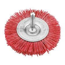 <b>Щетка для дрели плоская</b> нейлоновая KWB, 100 мм - купите по ...