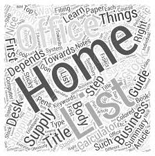 home office guide. Home Office Supply Shopping Guide Word Cloud Concept Stock Vector - 73615077