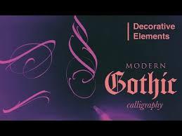 Gothic Decorative Elements <b>Декоративные Элементы</b> Готики ...