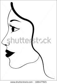 Face Silhouette Simple