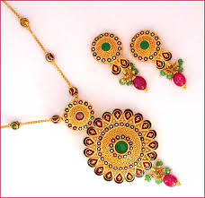 gold pendant necklace gold jewellery rs