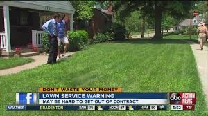 Dont Waste Your Money Lawn Service Contract Warning