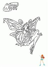 Bloom Winx Coloring Pages Sanfranciscolife