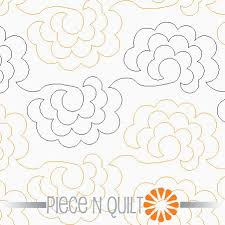 211 best Pantograph & Free Motion Quilting images on Pinterest ... & Roses Pantograph Pattern - Paper. Get this for my next quilt! Adamdwight.com