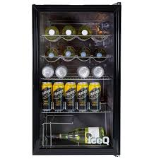 counter glass door display fridge ref iceq93g save 33 100 00