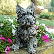 dog garden statue. Dog Garden Statue T