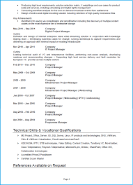 Software Project Manager Resume Project Manager Cv Example Cv