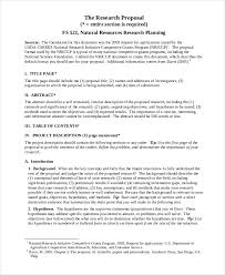 Proposal Paper Template Example Of A Research Proposal Paper In Apa