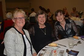 Chaplaincy Dinner, Lake Apex, Wendy Burrell, Karen Dennien and Kerry ... |  Buy Photos Online | Sunshine Coast Daily