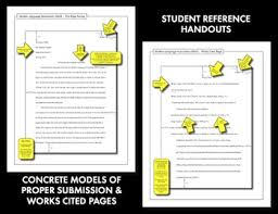 Cited Works Mla Format Mla Citation Lecture Handouts Mla 8th Edition In Text Citation
