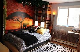 Trend African Style Interior Design With Kids Bedroom With Colorful Safari  Theme