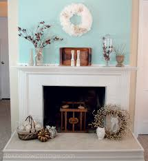 cute mantel decoration for fireplace and simple candleholders with decorative wall decor
