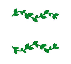 Buy 2 Get 1 Free Green Vine Border Flourish Line Leaves Etsy