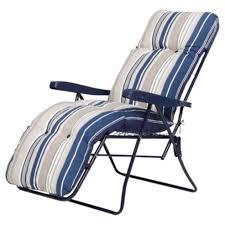 tesco direct padded garden reclining