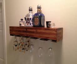 decorating pretty wall mounted wine glass rack 10 glomorous under cabinet wood hanging first kitchen design