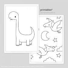 Dinos Printable Kleurplaten Tekeninstructies