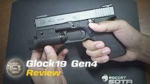 รีวิว Glock19 Gen4 - YouTube