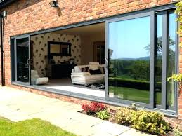 triple sliding glass patio doors irrational door source a interior design 7