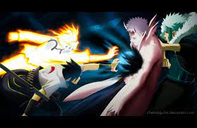 Naruto Manga 641 Naruto and Sasuke vs Obito by ChekoAguilar on DeviantArt