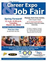 18th Annual Career Expo Job Fair The Calendar Fairbanksalaska Com