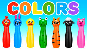 Learn Colors With Colors Bowling Game Learning Colors For