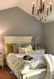 Sherwin Williams Ellie Gray In A Master Bedroom With White Furniture Extraordinary Bedroom With White Furniture