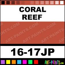 Coral Reef Paint Color Coral Reef Universe Twin Paintmarker Paints And Marking Pens 16