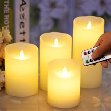 Candle Light Illusion Details About Flickering Led Flameless Flame Wax Candles Led Tea Light Lamp Home Decor Xmas