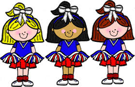 Image result for animated cheerleaders