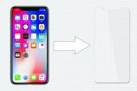 <b>Защитное стекло Ainy для</b> Apple iPhone X, AF-A1055, матовый ...
