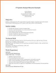 9+ technical skills resume | leave latter