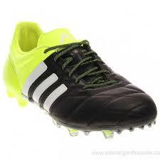 women s men s adidas ace 15 1 fg ag leather soccer shoes cblack ftwwht