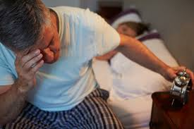 Image result for elderly sleeping, anxious