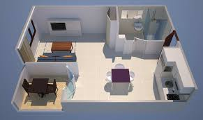 Park Plaza Verudela Pula Accommodation - Rental apartment one bedroom apartment open floor plans