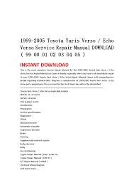 Toyota camry 2002 2003 2004 2005 2006 diy service repair manual ...