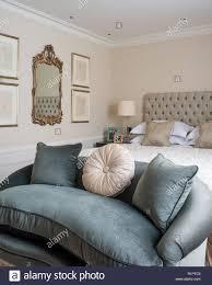 Sofa Bett Im Georgianischen Stil Schlafzimmer Stockfoto Bild