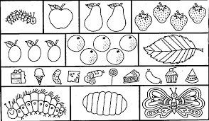 Small Picture Very Hungry Caterpillar Clipart Bebo Pandco