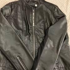 cbausa 11 days ago united states black rivet faux leather jacket