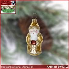 Christbaumschmuck Weihnachtsmann Mini Glasform Sammlerstücke