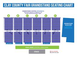 Sc State Fair Concert Seating Chart 69 True Minnesota State Fair Grandstand Seating
