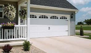 garage door 52 with cascade windows white